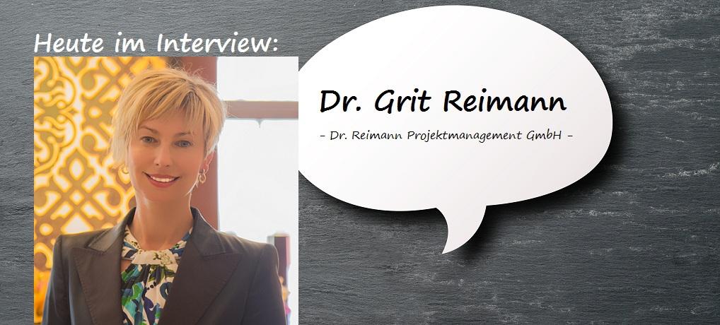 Dr. Grit Reimann Interview