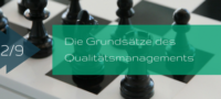 Grundsätze des Qualitätsmanagements